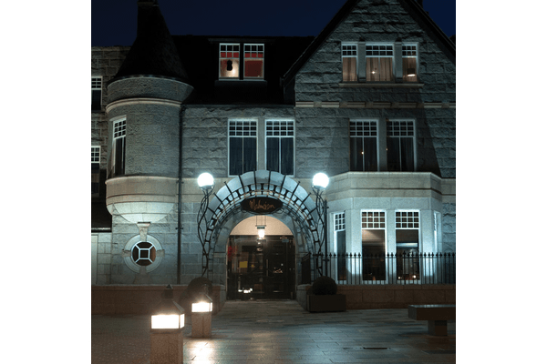 Image of the exterior of the Malmaison Aberdeen