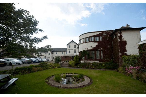 Exterior of the Parkstone Hotel Prestwick