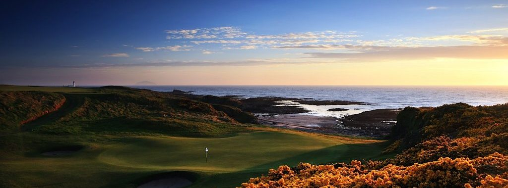 An image of the Turnberry Kintyre course at Turnberry which we feature in our Ayrshire Golf Package