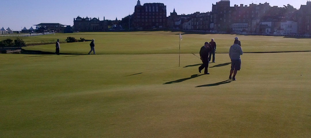 Golf at St Andrews - The Old Course