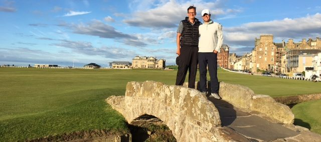 Old Course St Andrews, Swilcan Bridge