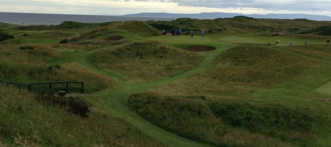 Royal Troon - The Postage Stamp is a great Par 3